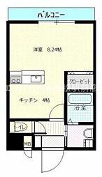 アルカディア太田[1階]の間取り