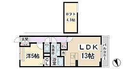HIRo[2階]の間取り