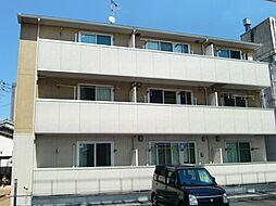 山口県宇部市中央町2の賃貸アパートの外観