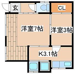 [一戸建] 兵庫県神戸市灘区赤坂通4丁目 の賃貸【/】の間取り