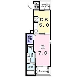K2ハウス[301号室]の間取り