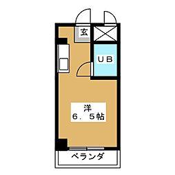 石塚ビル[5階]の間取り