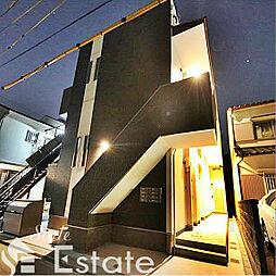 愛知県名古屋市中村区向島町2丁目の賃貸アパートの外観