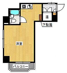 ライオンズマンション石川町第二[3階]の間取り