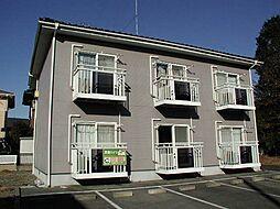栃木県宇都宮市下荒針町の賃貸アパートの外観