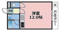 グローリーハイツ東成[305号室号室]の間取り
