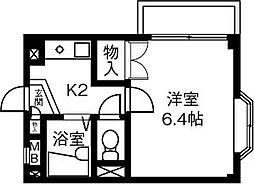 エクラ・ド・ルーン[4階]の間取り