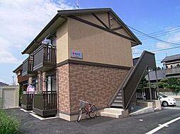 埼玉県東松山市大字市ノ川の賃貸アパートの外観