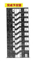 パークスクウェア八幡町[1階]の外観