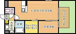 フローラシオン[1階]の間取り