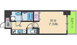 レオンヴァリエ福島野田[6階]の間取り