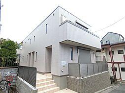 東京都世田谷区深沢1丁目の賃貸アパートの外観