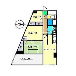 第II瀬戸ハイツ[3階]の間取り