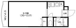 リビングVII[4階]の間取り