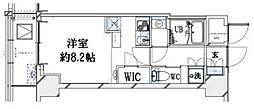 グランリーヴェル横濱大通り公園[9階]の間取り