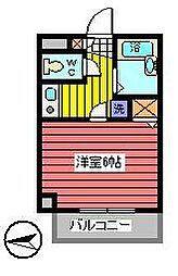 クオリティライフ慶[2階]の間取り
