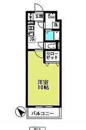 サンコーレジデンス[2階]の間取り