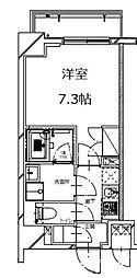 S-RESIDENCE月島(エスレジデンス月島)[3階]の間取り