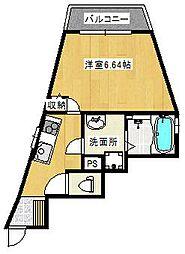 アライズ諏訪ノ森マンション[210号室]の間取り