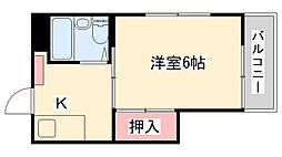 風早アパート[106号室]の間取り