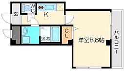 ソレイユリオ[3階]の間取り