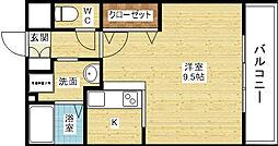 サンステ−ジN[2階]の間取り