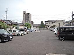茨城県水戸市千波町の賃貸マンションの外観