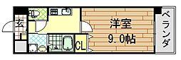 COZY COURTIII(コージーコートスリー)[10階]の間取り