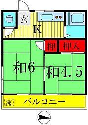亀有駅 4.5万円