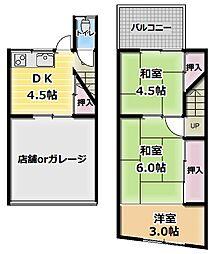 [テラスハウス] 大阪府門真市浜町 の賃貸【/】の間取り