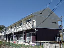 長野県諏訪郡富士見町落合の賃貸アパートの外観