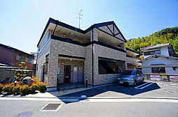 兵庫県川西市火打2丁目の賃貸アパートの外観