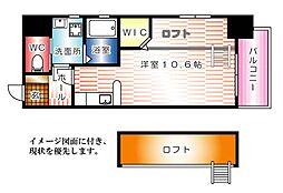 KATAYAMA BLDG20[801号室]の間取り