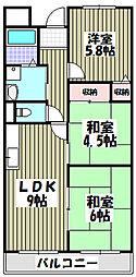 メゾン・ド・シャルム[3階]の間取り