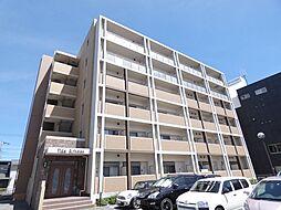 兵庫県明石市魚住町西岡の賃貸マンションの外観