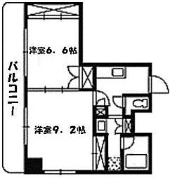 ヴィブレ大須[7階]の間取り
