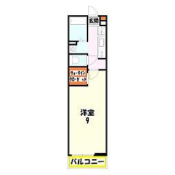 グランマイズミ[1階]の間取り