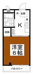 コーポ小嶋[3階]の間取り
