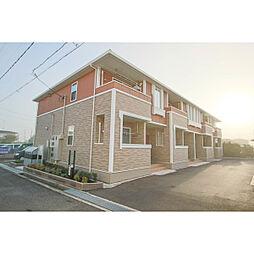 岡山県赤磐市桜が丘東5の賃貸アパートの外観