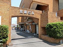埼玉県上尾市緑丘2丁目の賃貸マンションの外観