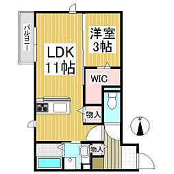 仮)中澤様D-room[3階]の間取り