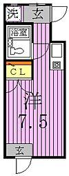 オオギセントラルプラザ[1階]の間取り