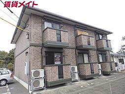 三重県四日市市大字羽津甲の賃貸アパートの外観