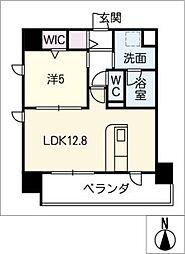 仮)千種区東山通一丁目プロジェクト 7階1SLDKの間取り