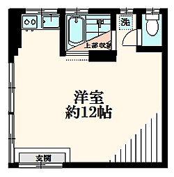 富士ビルNO.5[1階]の間取り
