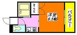グランソシエ・高井田 402号室[4階]の間取り