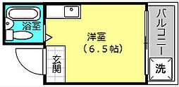リバーヒル堺[3階]の間取り