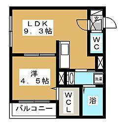Arena[3階]の間取り