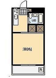 第3グリーンビル[301号室]の間取り