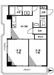 錦糸町グリーンプラザ[10階]の間取り